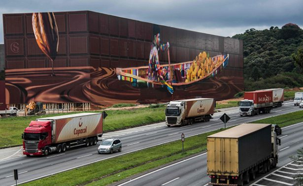 Crean el grafiti más grande del mundo