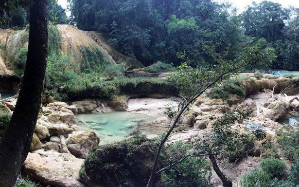 Desazolve no revivirá cascadas de Agua Azul