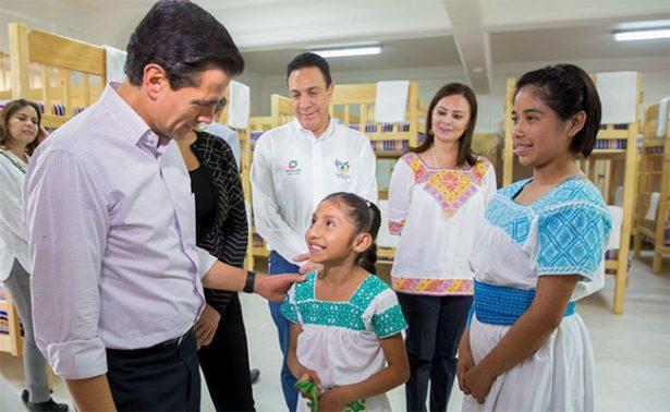 Peña Nieto inaugura en Hidalgo Casa del Niño Indígena