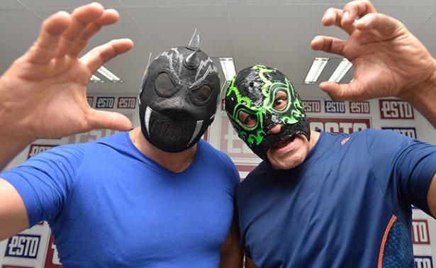 Mephisto y Raziel en eliminatoria de la Gran Alternativa en la Arena México