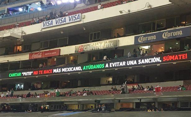 """Selección pide al Azteca evitar el """"ehh pu%&"""" pero no lo logra"""