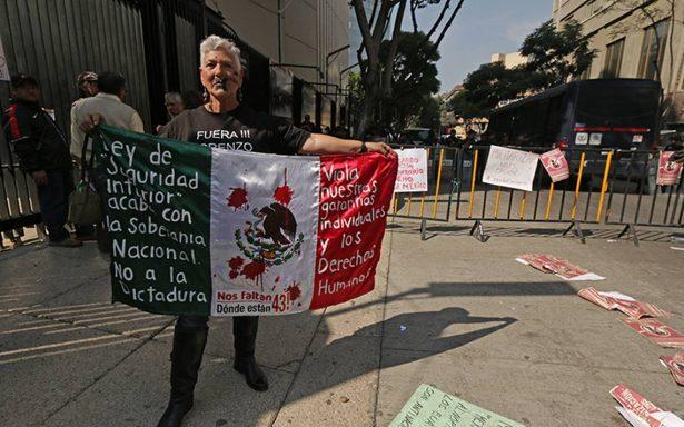 Piden ONG's no aprobar Ley de Seguridad interior