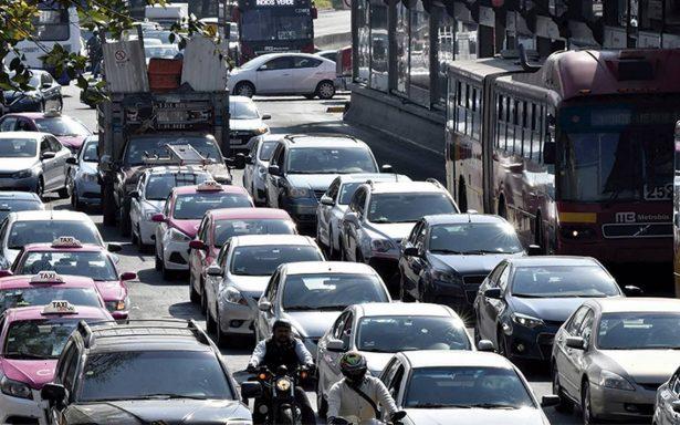 Paciencia automovilistas; congestionamientos atascan la CdMx