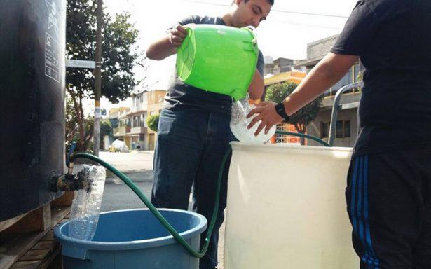 Valle de México recibe ya el 100% del suministro de agua