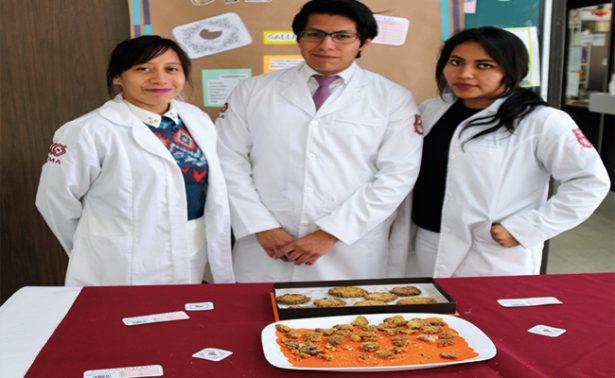 Estudiantes mexicanos crean galleta contra el estreñimiento