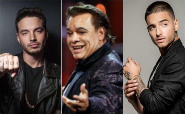 Juan Gabriel, Maluma y J Balvin, nominados a los premios Billboard