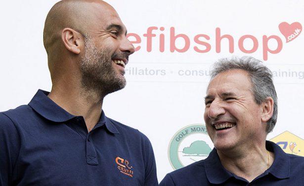 Josep Guardiola habló con el nuevo DT blaugrana