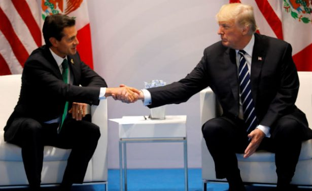 Con Trump tuve un encuentro cordial, asegura Peña Nieto