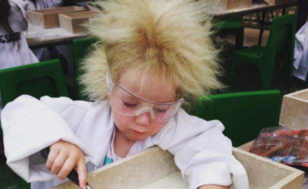 Ella es Shilah Madison y padece síndrome del cabello impeinable