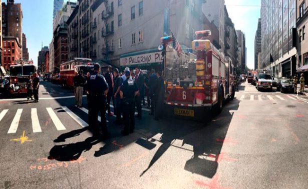 Fuga de gas en Nueva York deja al menos 32 personas intoxicadas
