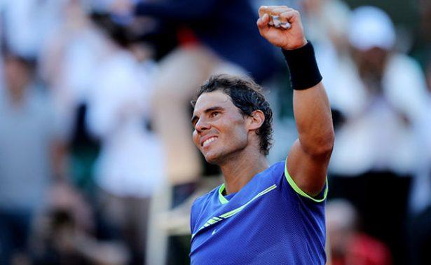 Nadal jugará décima final en Roland Garros, donde le espera Wawrinka