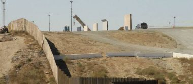 Van 5 prototipos de muro construidos en frontera con Tijuana