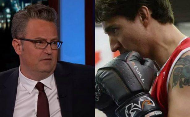 ¿Por qué Trudeau y Mathew Perry casi llegan a los golpes?