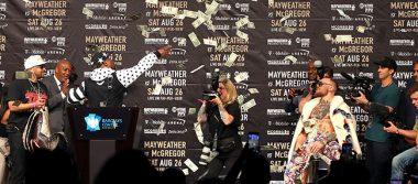 Cifras de otro mundo en pelea de Mayweather vs McGregor