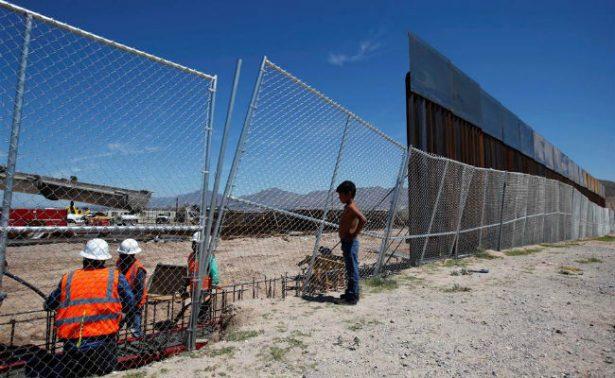 EU avanza en construcción de barreras en frontera con México cerca de San Diego