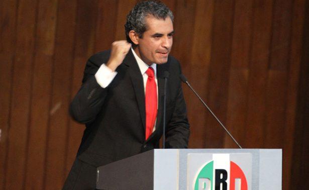 Descarta el presidente nacional del PRI renuncia si pierde Coahuila