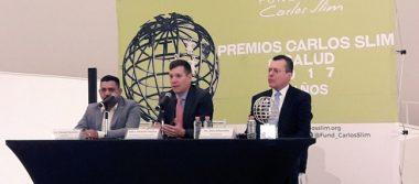 Presentan a ganadores de Premios Carlos Slim en Salud 2017