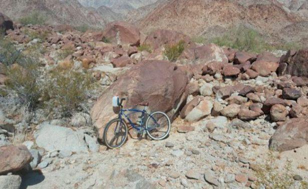 Encuentran muerto a ciclista extraviado en Mexicali