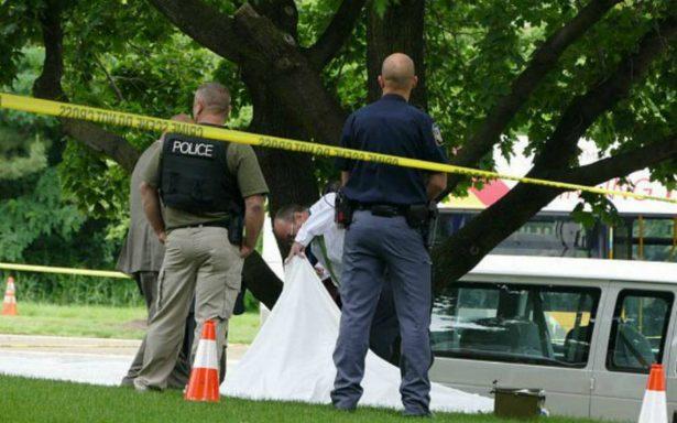 Tiroteo en parque de Maryland deja tres muertos