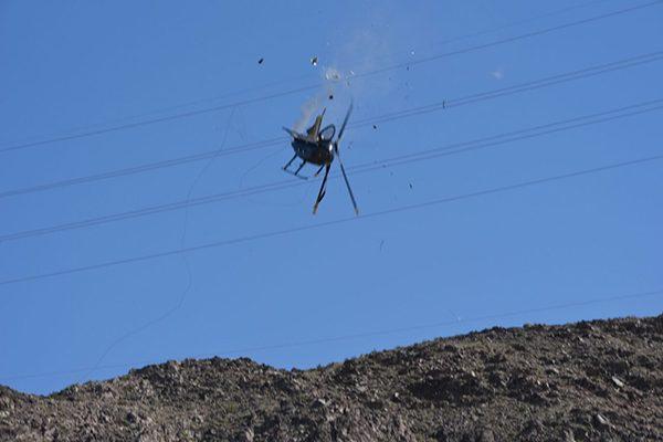 Realizán colecta para víctimas del helicóptero caído