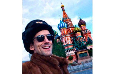 Chava Iglesias busca en Rusia nuevos fichajes para Club de Cuervos