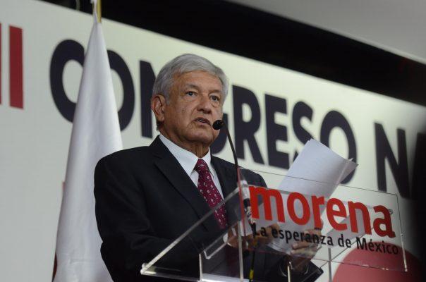 Morena no va con ningún otro partido para el 2018, afirma AMLO