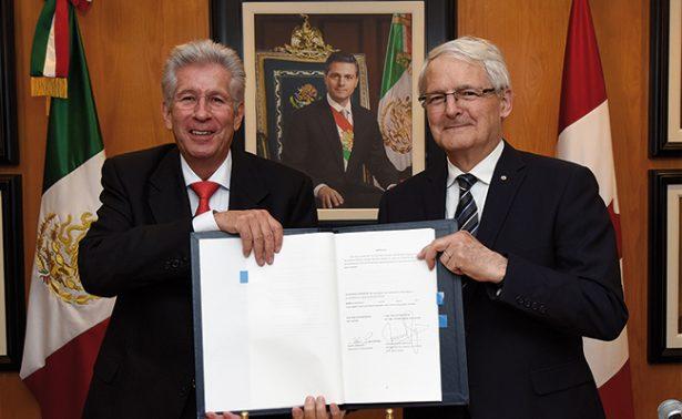 México y Canadá acuerdan modificaciones al tratado bilateral de servicios aéreos