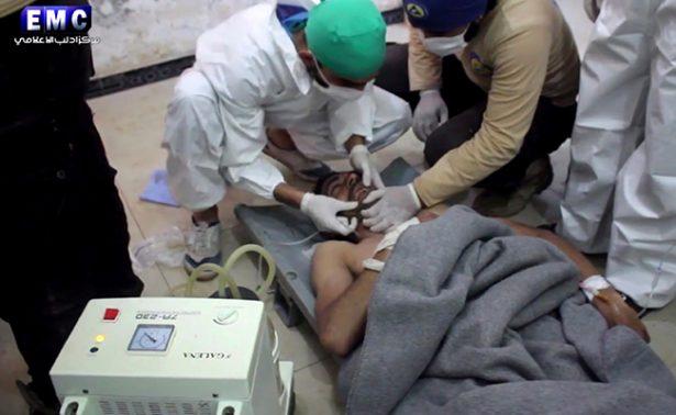 Condena mundial al ataque químico en Siria; ONU convoca reunión urgente