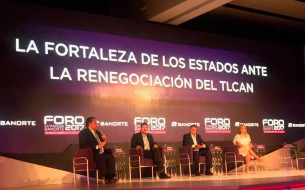 """Piden gobernadores fronterizos su """"cuarto de junto"""" en TLCAN"""