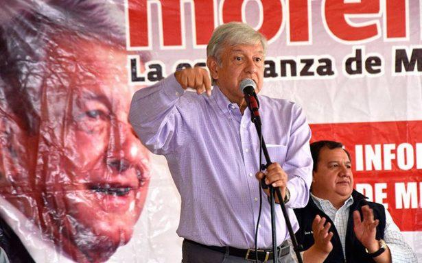 Anaya y Meade no conocen ni quieren al pueblo, son 'pirrurris', reitera López Obrador