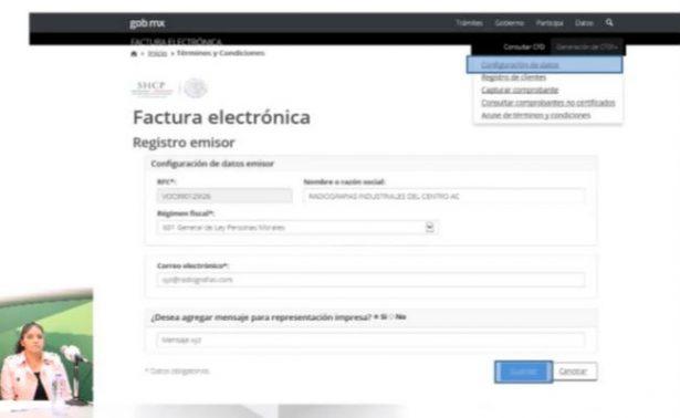 Entra en vigor nueva factura electrónica del SAT, ya está disponible en su portal