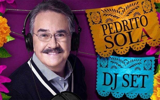 ¡Pedrito Sola será DJ! Invita a 'la juventud' a fiesta de Día de Muertos