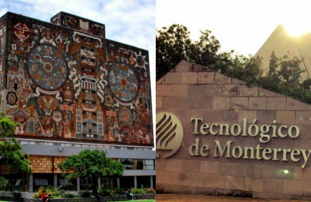 UNAM y Tec de Monterrey, entre las 200 mejores universidades del mundo