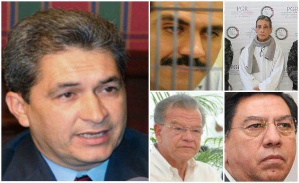 Con Yarrington suman cinco los exgobernadores mexicanos detenidos