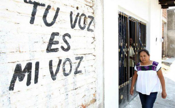 """Aspirante del EZLN a la Presidencia afirma estar lista para """"lo que venga"""""""