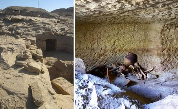 Encuentran 12 tumbas del Imperio Nuevo faraónico en Egipto
