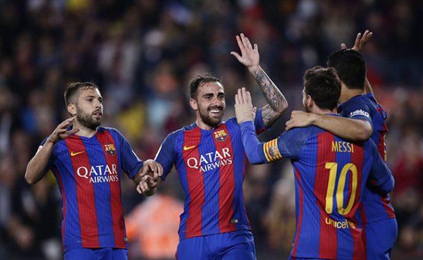Tras dificultades triunfa el Barça ante Real Sociedad