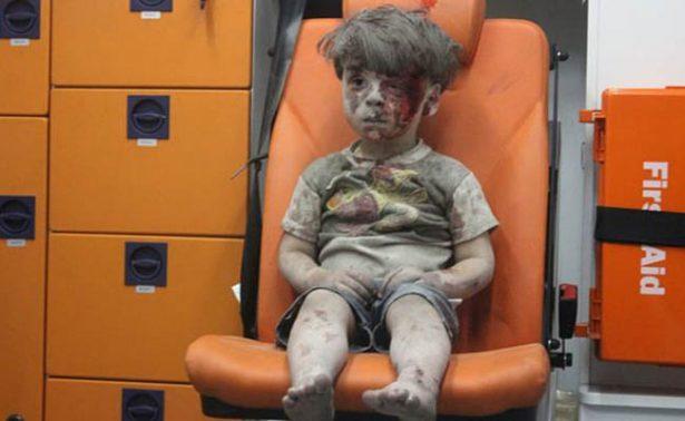 Así luce Omran, el rostro del sufrimiento en Alepo