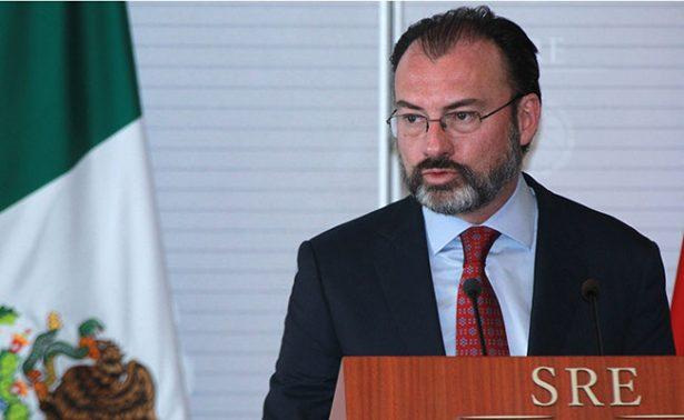 Presentará Videgaray en la OEA el tema de la Asamblea General