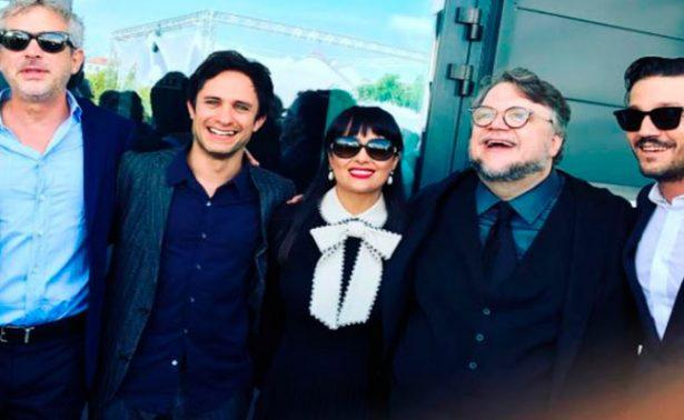 Salma Hayek confiesa como logró llevar el mariachi a Cannes
