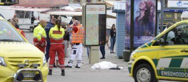 Ataque con cuchillo en Turku está vinculado con el terrorismo: policía finlandesa