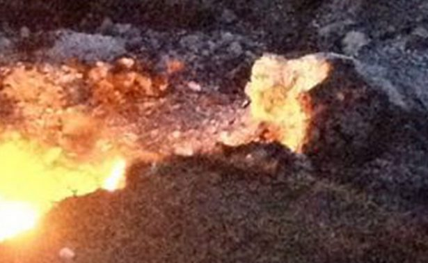 Combustión de suelo vegetal y no un volcán: eso sucedió en suelo de Michoacán