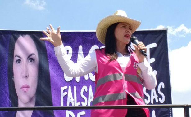 Teresa Castell acusa a Morena de misoginia