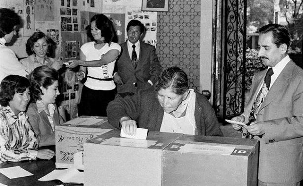 Voto femenino, a 62 años de su lucha por ejercer el derecho ciudadano