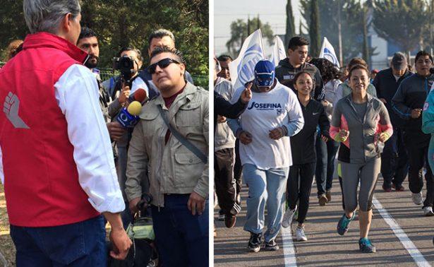 Así se vive domingo de campañas en el Estado de México