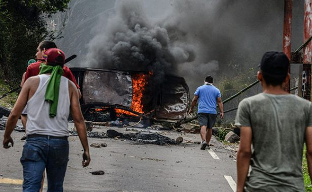 Van 26 muertos por violencia en protestas en Venezuela