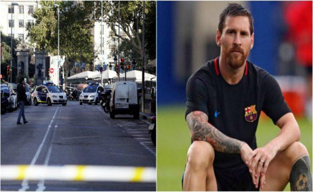 """Messi aboga por """"vivir en un mundo en paz y sin odio"""""""