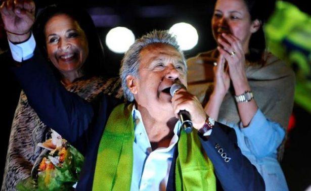 Lenin Moreno se impone con 51% en elecciones presidenciales de Ecuador