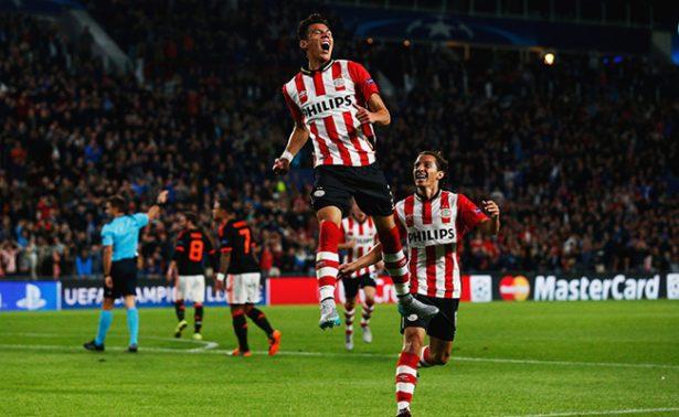 Moreno anotó en el empate ante el Twente