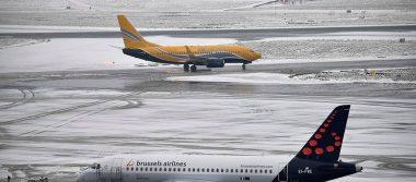 ¡Frío en serio! Nevadas paralizan países de Europa central